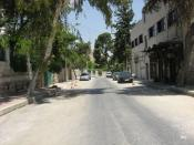 English: I snapped this pic of Mango Street, May 2008.