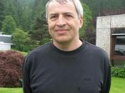 English: John Lott, Oberwolfach 2010