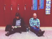 Parent-Teacher Conferences #parents #school #hallway #lockers