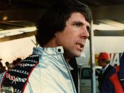 English: Darrell Waltrip, after his 5th place finish in the Atlanta 500, November 4, 1979.