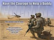 English: United States Army Suicide Prevention Poster