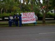English: Protesters in 2006 at UKZN