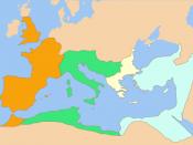 Italiano: Suddivisione dell'impero romano dal 22 maggio 337 (morte di Costantino I) al 9 settembre dello stesso anno (proclamazione degli augusti). Costantino II Costante I Flavio Dalmazio Costanzo II Per modificare questa immagine, si prega di modificare
