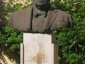 Statue of Sir Winston Leonard Spencer Churchill in Valletta, Malta