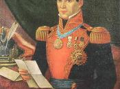 English: Antonio López de Santa Anna
