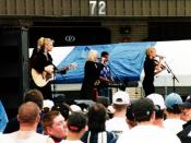 English: The Dixie Chicks at the Country For Kids concert in 1998 in Stafford, VA
