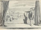 English: Illustration of 's ', Act I – Prologue.