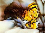 Shere Khan, the series' main villain, together with his hyena cronies