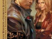 Xander along with Buffy in the comic book continuation Buffy the Vampire Slayer Season Eight.