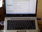 English: HP Pavilion dv6618eo Entertainment Notebook PC