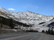 Mount Democrat from Climax Mine