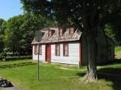 English: Abigail Adams birthplace, Weymouth Massachusetts, June 2009