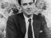 Portrait of Roald Dahl,1954 Apr. 20