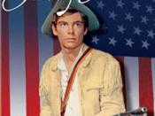 DVD cover for Johnny Tremain