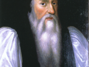 Thomas Cranmer, Archbishop of Canterbury, exerted a powerful influence on Edward's Protestantism.