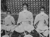 English: Monks belonging to Sthanakvasi sect of Jainism. Considered to be in public domain as it was published first in 1916. The book is available at http://www.gutenberg.org/files/20583/20583-h/20583-h.htm