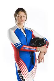 Alena Zavarzina, Russian snowboarder. Français : La slalomeuse de snowboard russe Alena Zavarzina.