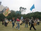 WTO Protest at Victoria Park, Causeway Bay, Hong Kong