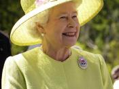 Queen of United Kingdom (as well as Canada, Australia, and other Commonwealth realms)