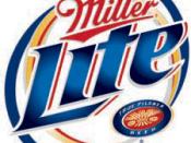 The official Miller Lite logo