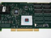 English: IBM Turboways ATM 155 PCI network interface card. Photographed by Roberto Amorim