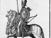 A Sipahi, from a 16th-century Western engraving