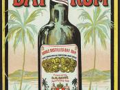 Double distilled bay rum [front]