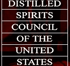 Logo of the Distilled Spirits Council of the United States.
