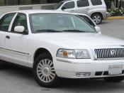 2006-2007 Mercury Grand Marquis photographed in College Park, Maryland, USA. Category:Mercury Grand Marquis (2003)