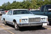 English: Mercury Grand Marquis front end.