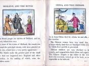 A 19th century children's book informs its readers that the Dutch are a very industrious race, and that Chinese children are very obedient to their parents.