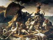 Raft of the Medusa by Théodore Géricault, 1819