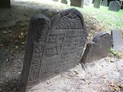 Grave of Elizabeth Pain, King's Chapel Burial Ground, Boston