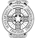 Traditional crest of the Christian Brothers, incorporating the Latin motto Facere et docere (