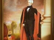 Andrew Jackson,  Seventh President (1829-1837)