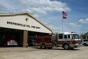 English: Swepsonville, North Carolina volunteer fire department.