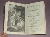 cover of volume 2 of evelina by Frances Burney