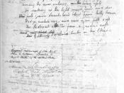 English: Page 2 of John Keats's manuscript for the poem