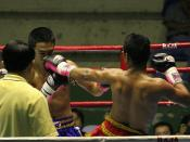 English: Boxing match in Bangkok,Thailand. http://www.dmitrimarkine.com