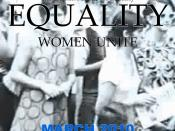 English: Equality (film), a short film produced and directed by Al Sutton, MD in 2010, that documents the largest gender equality strike in U.S. History, The Women's Strike for Equality of 1970.