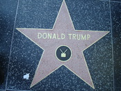 English: This photo depicts Donald Trump's star on the Hollywood Walk of Fame.