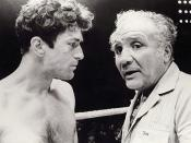 Robert De Niro in training with the real Jake LaMotta