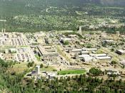 Los Alamos National Laboratory and the town of Los Alamos, New Mexico