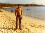 English: Joel in Mauritius