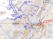 English: Map of Chickamauga Campaign of the American Civil War. Drawn in Adobe Illustrator CS5 by Hal Jespersen. Graphic source file is available at http://www.posix.com/CWmaps/