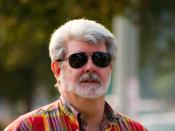 A portrait of George Lucas, Pasadena, California, USA