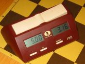 A modern digital chess clock