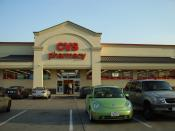 English: A CVS pharmacy in Southside Place, Texas, formerly an Eckerd Drug