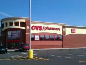 English: The front of CVS #4191