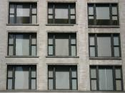 English: Chicago School window grid, Chicago, IL, USA